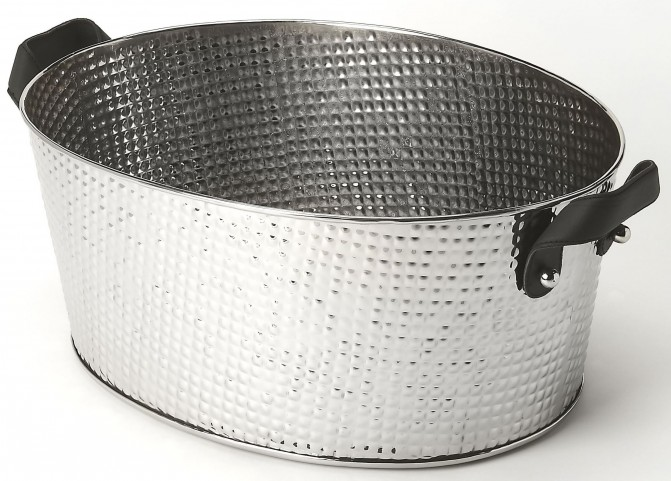 Avant Hammered Stainless Steel Wine Bucket