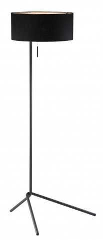 Twixt Black Floor Lamp