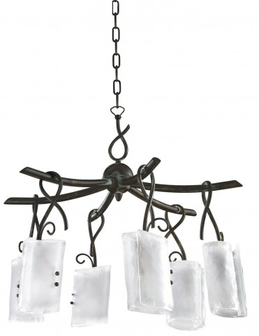 Somerset 6 Light Golden Graphite Chandelier