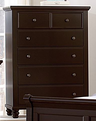 Ellington Merlot 5 Drawer Chest