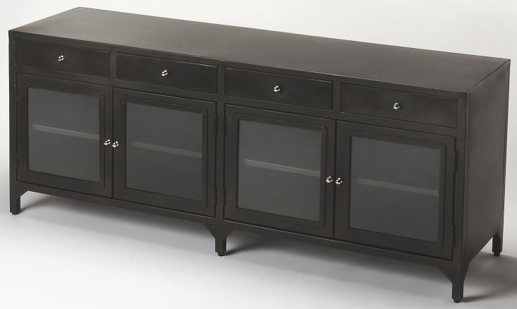 Oscar Industrial Chic Console Chest
