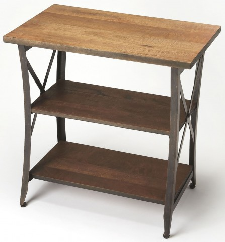 Overton Industrial Chic Side Table