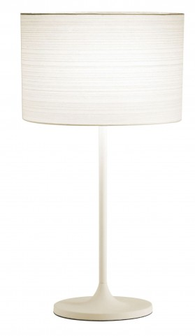 Oslo White Table Lamp