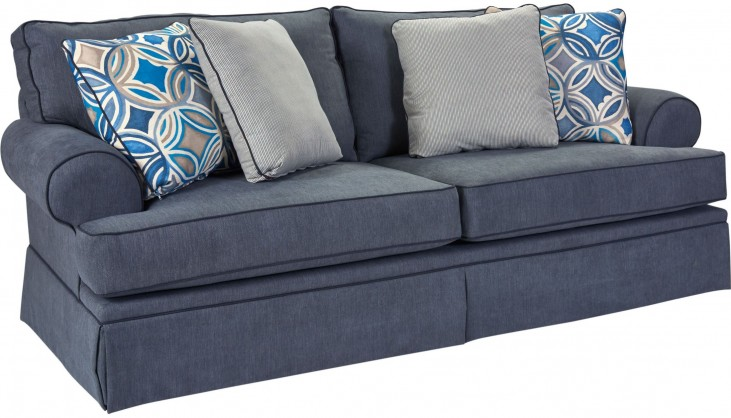 Emily Woven Fabric Loveseat
