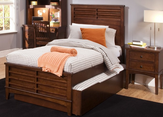 Chelsea Square Twin Panel Bed