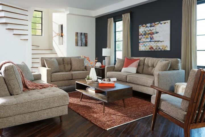 Chento Jute Living Room Set
