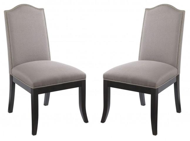 Roderigo Linen Dining Chair Set of 2