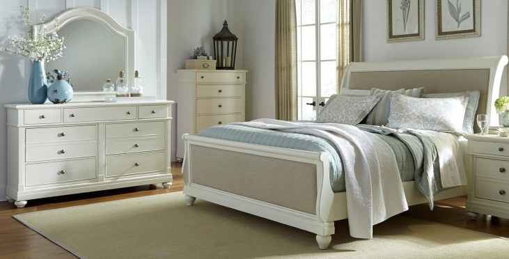Harbor View II Sleigh Bedroom Set