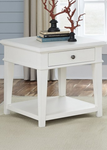 Harbor View Linen End Table