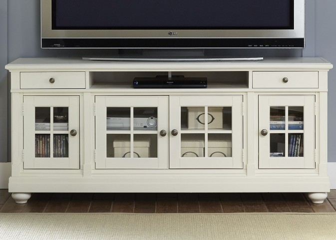 "Harbor View Linen 74"" TV Console"