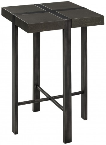 Fontana Gray Metal Side Table
