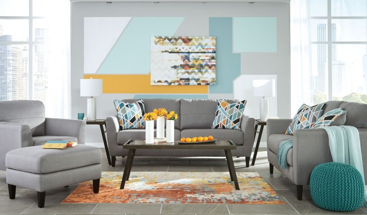 pelsor gray living room set 6340338 ashley