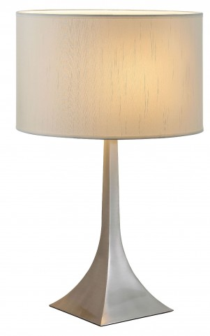 Luxor Steel Tall Table Lamp