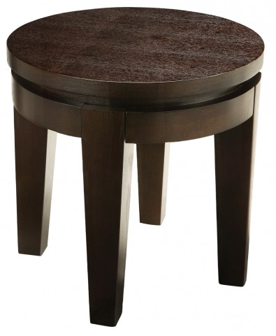 Asia Round End Table