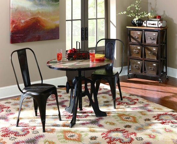 Amara Iron Adjustable Table