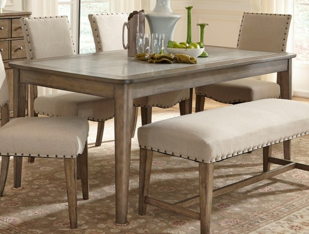 Weatherford Rectangular Leg Table