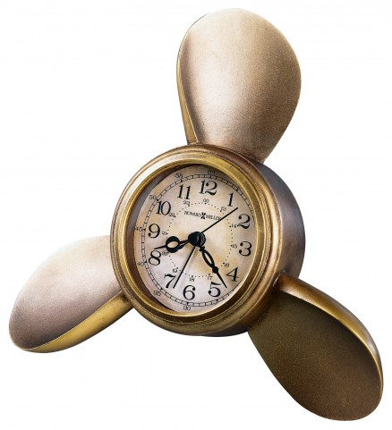 Propeller Alarm Table Clock