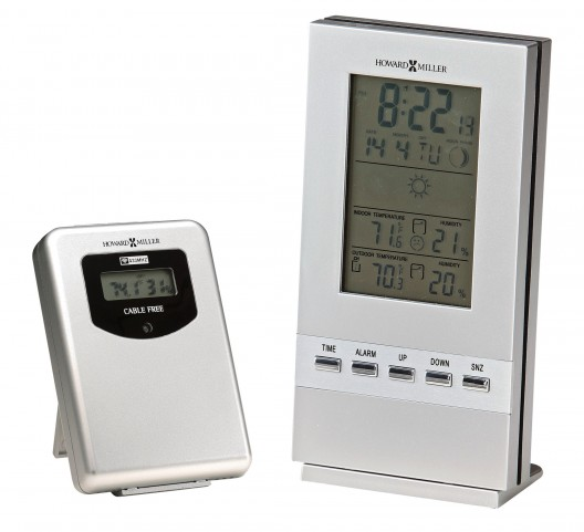 Weather Sentinel Table Clock