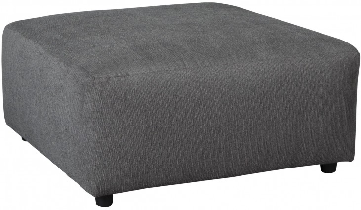 Jayceon Gray Oversized Accent Ottoman