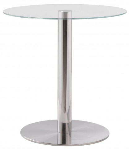 Turner Silver Accent Table