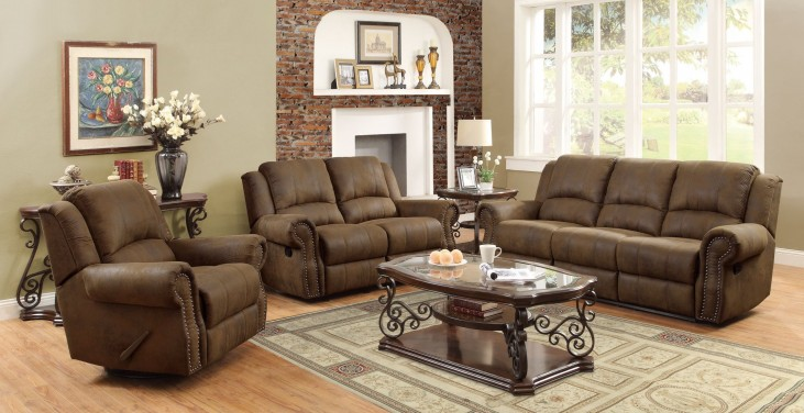 Sir Rawlinson Brown Reclining Living Room Set