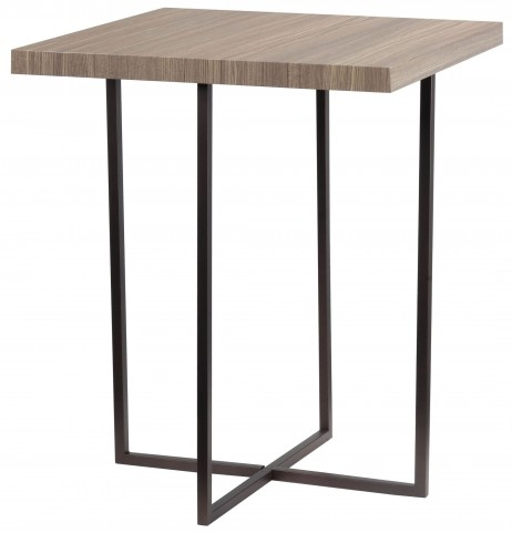 Cronin Satin Bronze Accent Table