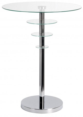Astro Chrome Accent Table