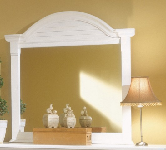 Cottage Traditions White Dressing Mirror