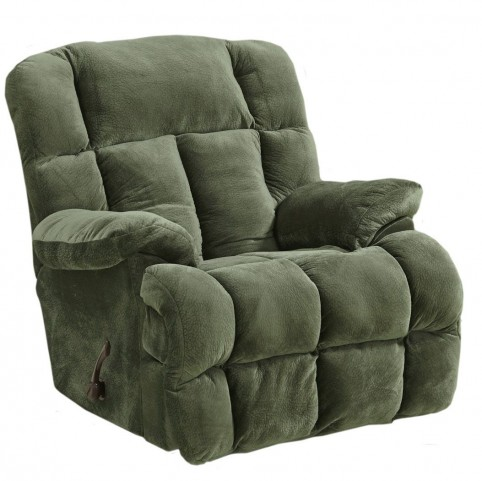 Cloud 12 Sage Chaise Rocker Recliner