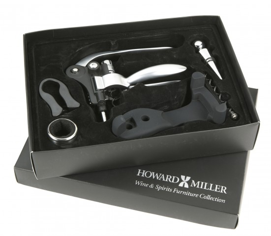 Six Piece Wine Serving Kit Accessories