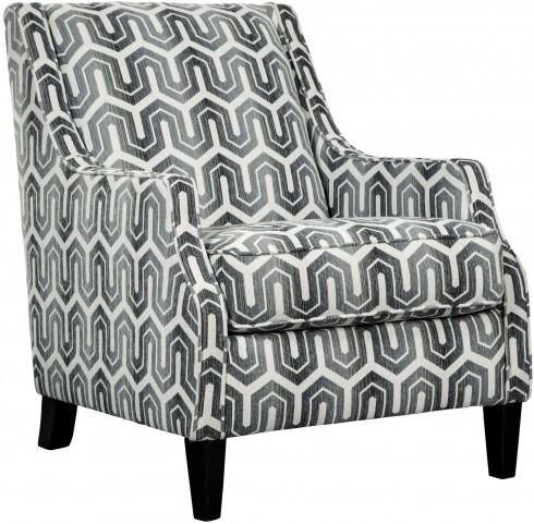 Gilmer Gunmetal Accent Chair