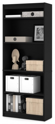 Black Standard Bookcase