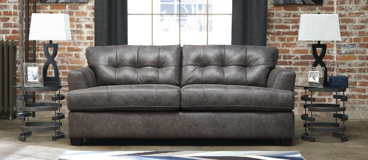 Inmon Charcoal Sofa