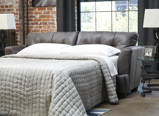 Inmon Charcoal Queen Sofa Sleeper