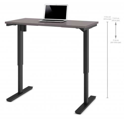 "48"" Slate Electric Height Adjustable Table"