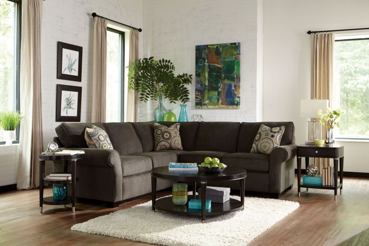 Ethan Affinity Chenille Fabric Sectional