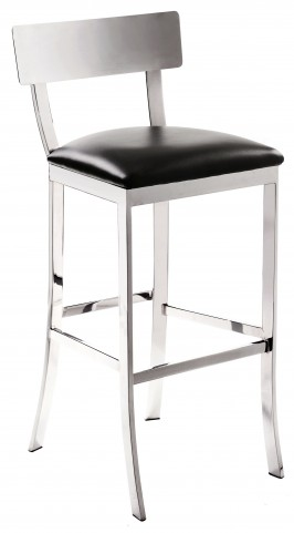 Maiden Black Barstool