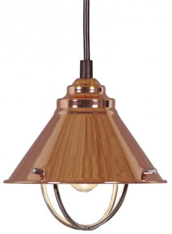 Harbour Copper 1 Light Mini Pendant