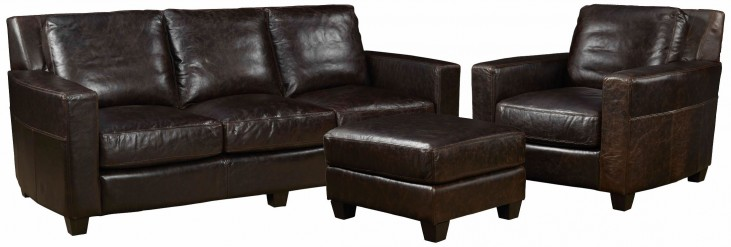Marin Ravenswood Cocoa Living Room Set