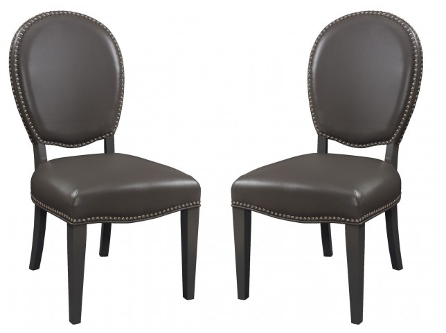 Keats Grey Accent Dining Chair Set of 2