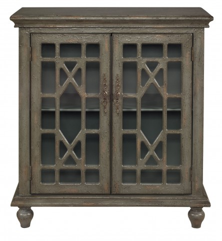 Joplin Texture Grey Two Door Cabinet