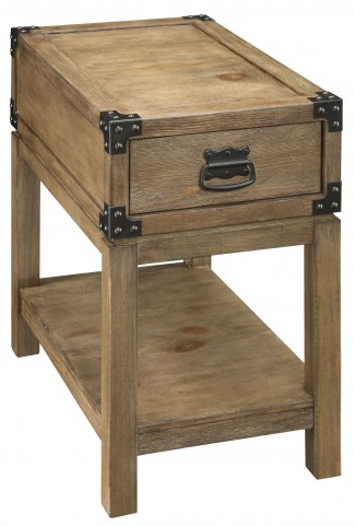 67457 One Drawer Chairside Table