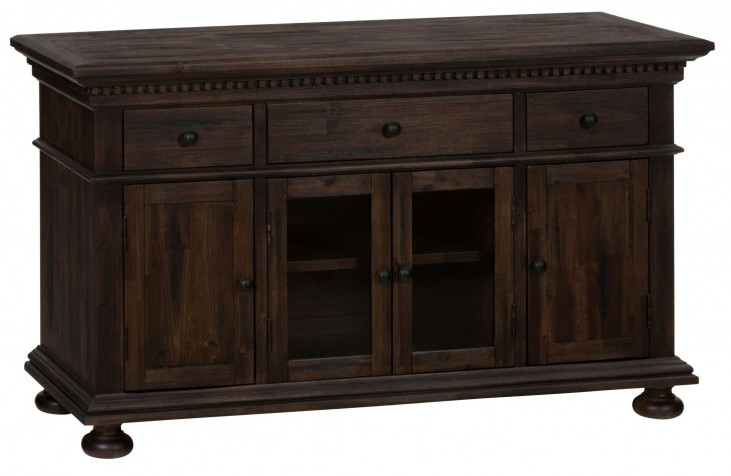 "Geneva Hills Rustic Brown 52"" Media Unit"