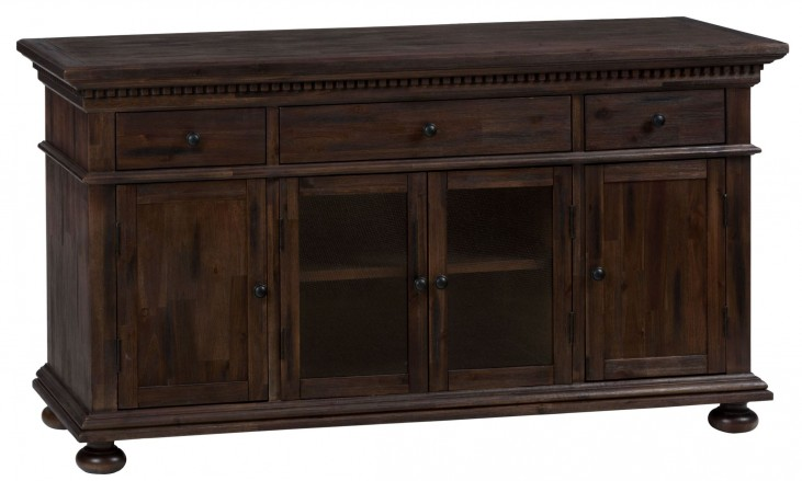 "Geneva Hills Rustic Brown 60"" Media Unit"