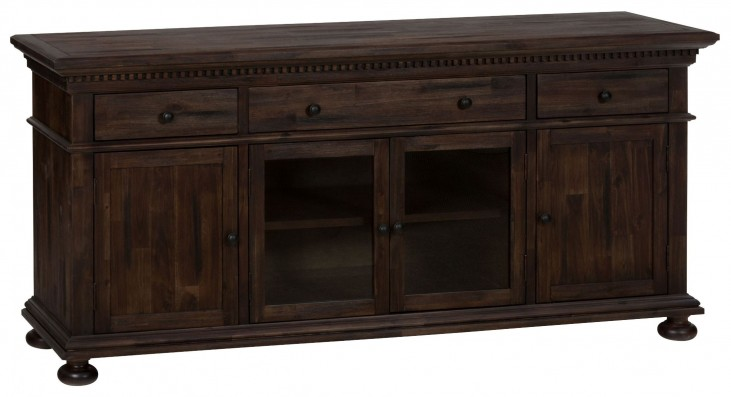 "Geneva Hills Rustic Brown 70"" Media Unit"