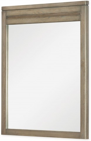Big Sky by Wendy Bellissimo Weathered Oak Vertical Mirror