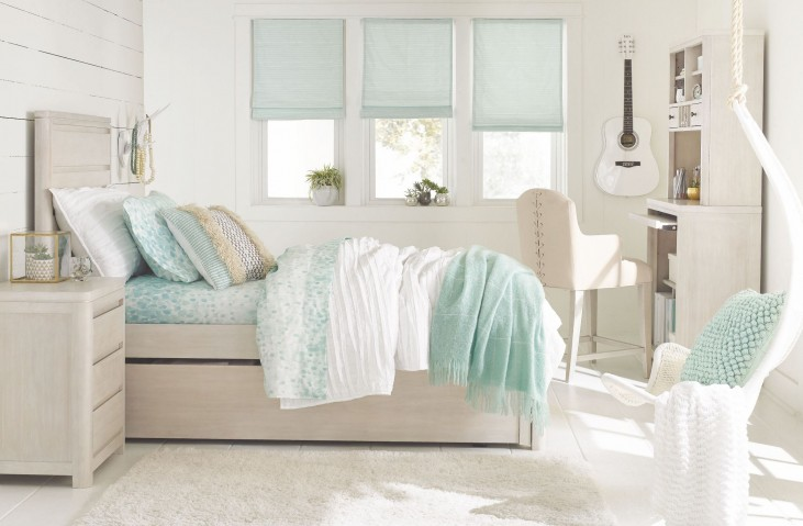 Indio by Wendy Bellissimo White Sand Youth Panel Bedroom Set
