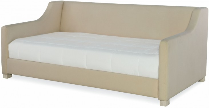 Indio by Wendy Bellissimo White Sand Twin Upholstered Daybed