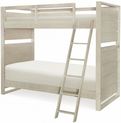 Indio by Wendy Bellissimo White Sand Twin over Twin Bunk Bed