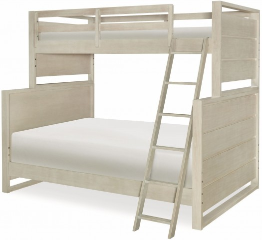 Indio by Wendy Bellissimo White Sand Twin over Full Bunk Bed